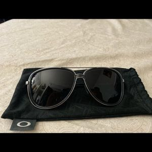 Oakley Split Time Onyx with Grey Gradient Lens